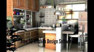 kitchen interior design software free 3d kitchen design software youtube