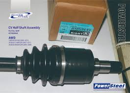 Cv Half Shaft Assembly by Cv Half Shaft Assembly 663558 4578600aa Oem Number 663558