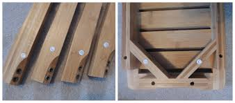 Wood Shower Bench Bamboo Shower Seat With Shelf Diy Guide