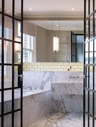 Industrial Style Bathroom Awesome Industrial Style Bathroom With Aluminum Bathtub Combine