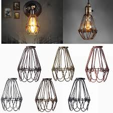 Glass Ceiling Light Covers Retro Vintage Industrial L Covers Pendant Trouble Light Bulb
