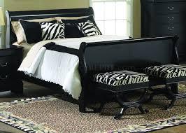 finish carrington sleigh bed w optional case goods