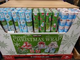 reversible christmas wrapping paper kirkland signature reversible christmas wrapping paper
