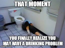 Drinking Problem Meme - image tagged in funny imgflip