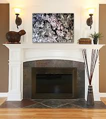 Over Fireplace Decor Living Room Over The Fireplace Decor Intended For Ideas In
