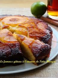 recette de cuisine gateau le gâteau à l ananas antillais un dessert délicieux