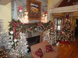 Christmas Garland Decorating Ideas by Home Accents Holiday Ft Led Pre Lit Jolly Artificial Mantel