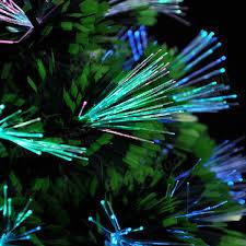 colorful fiber optic tree home garden pub decor at