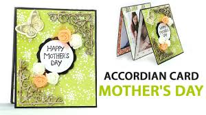 easy diy mothers day folding card mother u0027s day accordion card