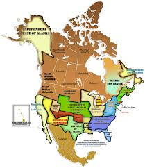 The Map Of United States Of America by Random Notes Geographer At Large Re Regionalizing The American