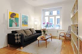 Scandinavian Chic Works Magic For Small Spaces IDesignArch - Swedish apartment design