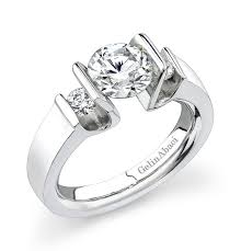 tension ring three tension ring gelin abaci engagement rings