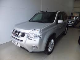 used nissan x trail silver for sale motors co uk