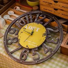 aliexpress com buy zakka grocery retro vintage old clock time