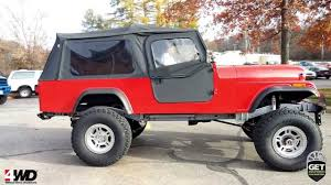 jeep scrambler lifted jeep scrambler wheel and tire parts 4 wheel drive hardware youtube