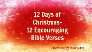 12 christmas 12 encouraging bible verses love hope