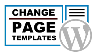 how to change the page template in wordpress youtube