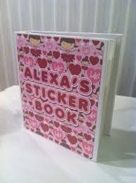 personalized album personalized photo albumsticker book sticker album end of c