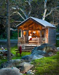 Judith Mountain Cabin by Creekside King Cabin In El Capitan Canyon In Santa Barbara Calif