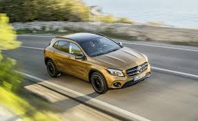 2018 mercedes benz gla class first drive review car and driver