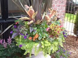 Summer Garden Ideas - fall front urn ideas summer garden urn planter design