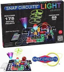 snap circuits lights electronics discovery kit snap circuits lights electronics discovery kit 691041494493 ebay