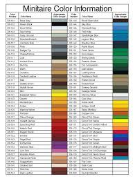 100 acrylic paint brand color comparison chart conversion