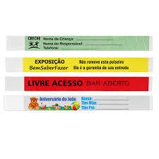 Common Pulseiras de Identificação Personalizadas Pack100 - Joaninhas @KR64