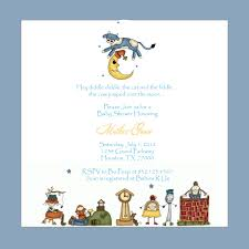nursery rhyme baby shower 3 monkeys and more nursery rhyme baby shower invitations