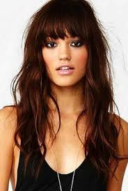 best 25 bangs for oval faces ideas on pinterest curled bangs