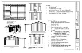 house plans with material list lovely house plans with material list 7 wooden garage plans