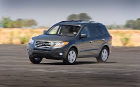 hyundai santa fe 2011 mpg 2011 hyundai santa fe reviews and rating motor trend