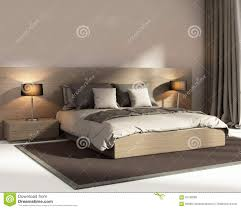 Luxury Bedroom Modern Luxury Beige Bedroom Stock Image Image 26469051
