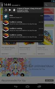 audible for android audible for android updated to fix its obnoxious persistent