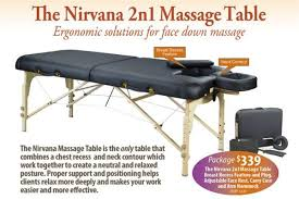what is the best massage table to buy massage table package portable massage table nirvana 2n1 massage