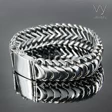 silver snake bracelet images Snake scales men bracelet vy jewelry jpg