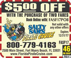 Map Of Fort Myers Florida by Pieces Of Eight Pirate Cruise Florida Coupons And Deals