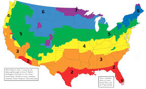 america climate zones map attic insulation how much do i need