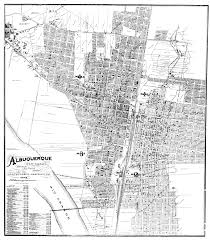 Old Route 66 Map by Historic Preservation U2014 City Of Albuquerque