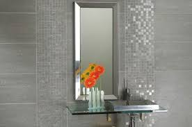 Bathroom Tiles - Silver bathroom