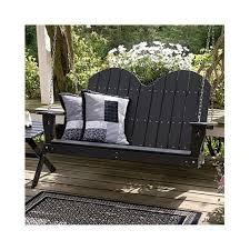 resin porch swing international caravan wicker valencia single 6