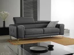 canapé cuir gris anthracite canape cuir gris anthracite maison design hosnya com