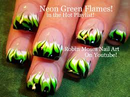 neon rainbow nails no water needed drag marble nail art robin