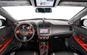 mitsubishi sport interior official 2013 mitsubishi outlander sport summer edition gtspirit