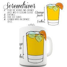 old fashioned cocktail clipart screwdriver vodka orange cocktail alcohol bar cool drink mug ebay
