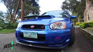 peanut eye subaru autoshack s sti youtube