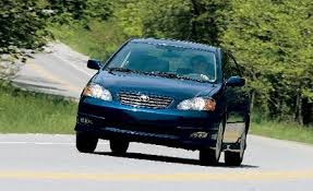 toyota corolla xrs 2008 toyota corolla xrs take road test reviews car and driver