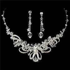 prom jewelry couture beautiful bridal wedding prom jewelry set hs9