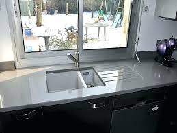 quartz cuisine prix de cuisine acquipace plan de travail cuisine quartz gris en