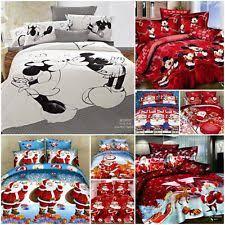 Double Christmas Duvet Flat Sheet Christmas Bedding Sets U0026 Duvet Covers Ebay